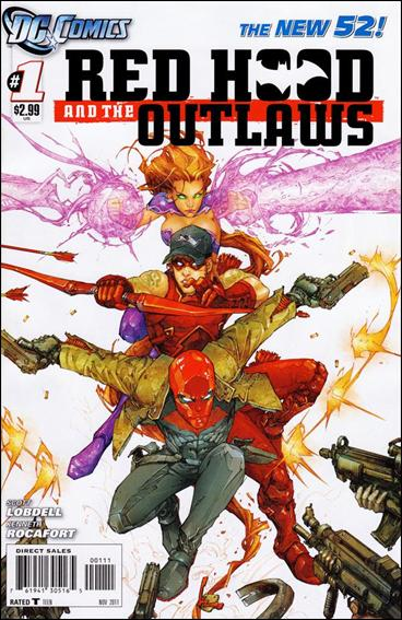 Red Hood and the Outlaws (2011) 1-A by DC