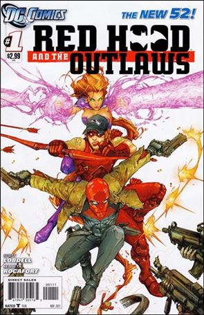 Red Hood and the Outlaws (2011) 1-A