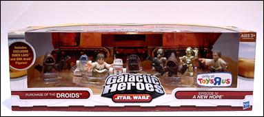 Star Wars Galactic Heroes Exclusive Jawa Droid Purchase
