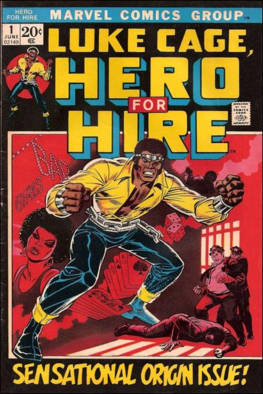 Hero for Hire 1-A by Marvel