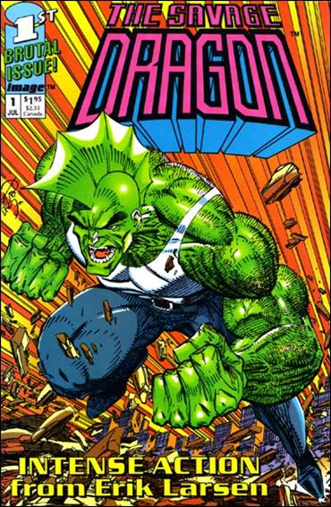 Savage Dragon (1992) 1-B by Image