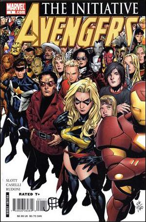 Avengers: The Initiative 1-C by Marvel