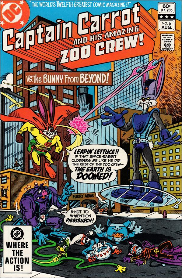 Captain Carrot and His Amazing Zoo Crew 6-A by DC