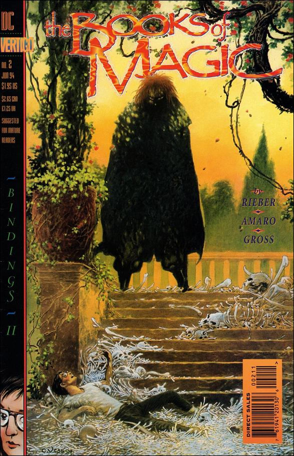 Books of Magic (1994) 2-A by Vertigo