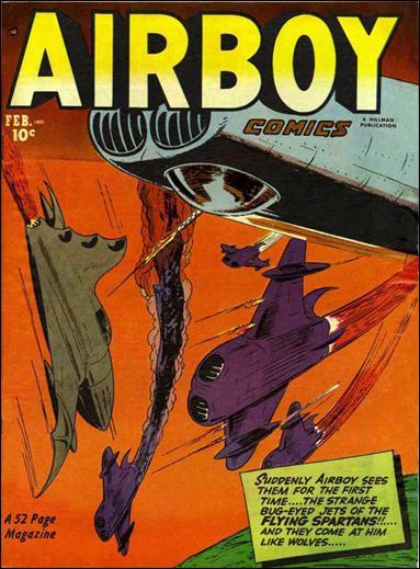 Airboy Comics (1952) 1-A by Hillman