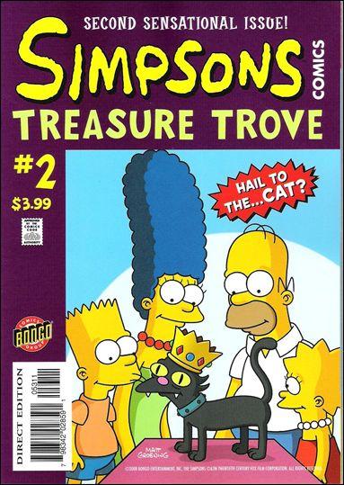 Simpsons Comics Treasure Trove 2-A by Bongo