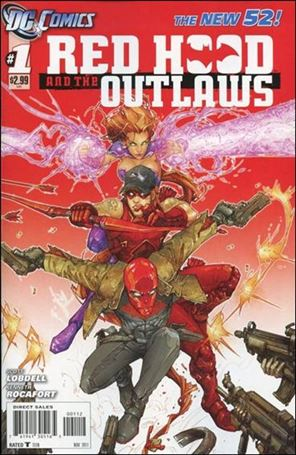 Red Hood and the Outlaws (2011) 1-B