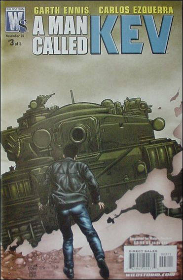 Man Called Kev 3-A by WildStorm