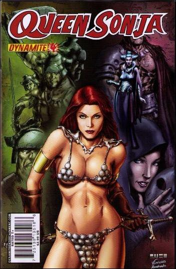 Queen Sonja 4-B by Dynamite Entertainment