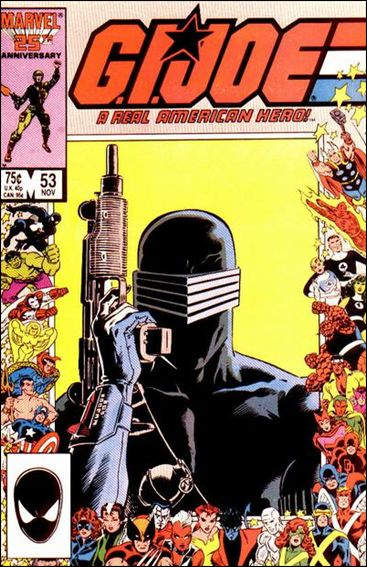 G.I. Joe: A Real American Hero 53-A by IDW
