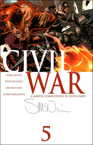 Civil War (2006) 5-D by Marvel