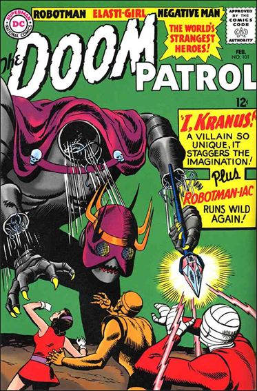 Doom Patrol (1964) 101-A by DC