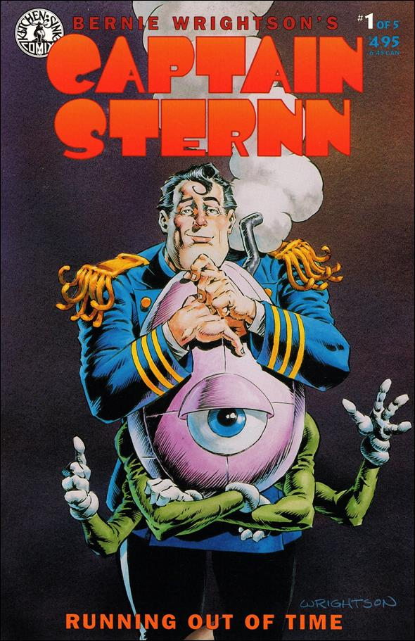 Captain Sternn: Running Out of Time 1-A by Kitchen Sink
