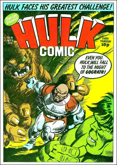 Hulk Comic (UK) 18-A by Marvel UK