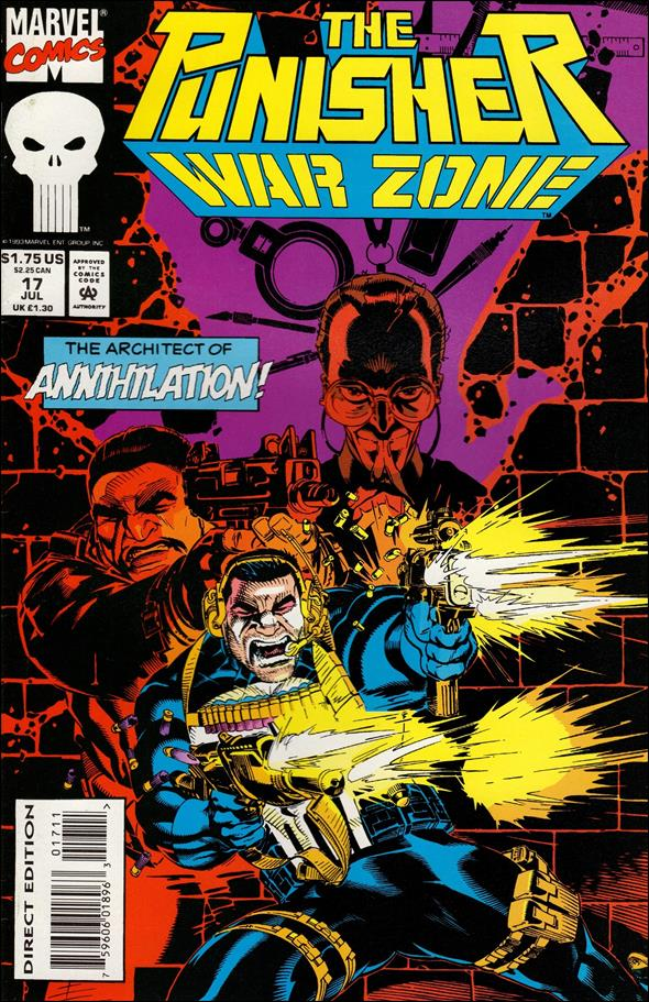 Punisher: War Zone (1992) 17-A by Marvel