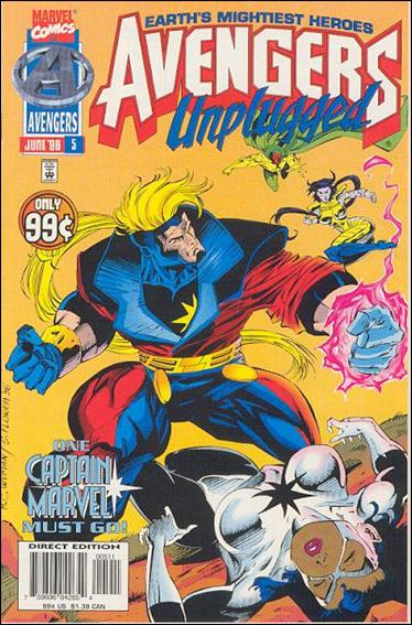 Avengers Unplugged 5-A by Marvel