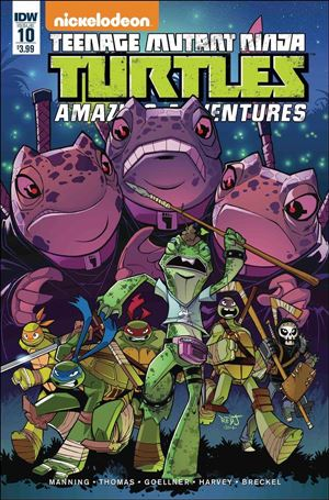 Teenage Mutant Ninja Turtles Amazing Adventures 10-A