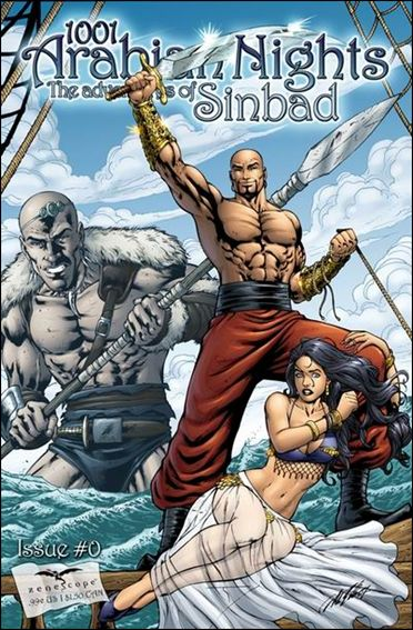1001 Arabian Nights: The Adventures of Sinbad 0-B by Zenescope Entertainment