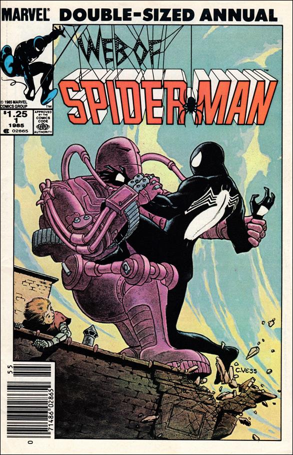Web of Spider-Man Annual 1-A by Marvel