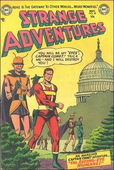 Strange Adventures (1950) 38-A by DC