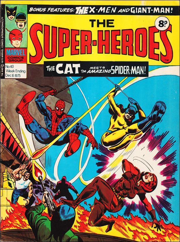 Super-Heroes (UK) 40-A by Marvel UK