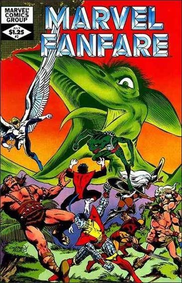 Marvel Fanfare (1982) 3-A by Marvel