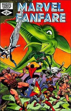 Marvel Fanfare (1982) 3-A