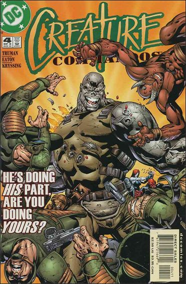 Creature Commandos 4-A by DC