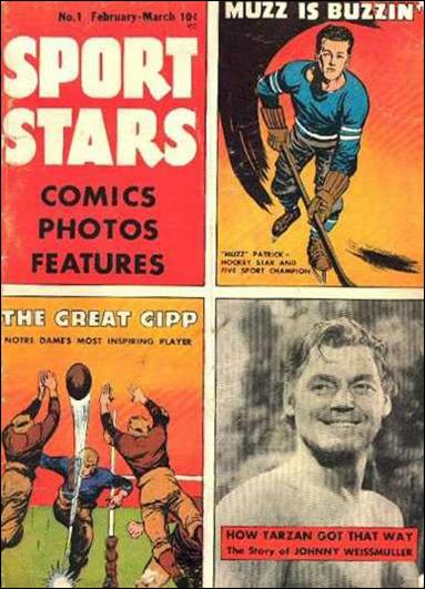 Sport Stars (1946) 1-A by Parents' Magazine Institute