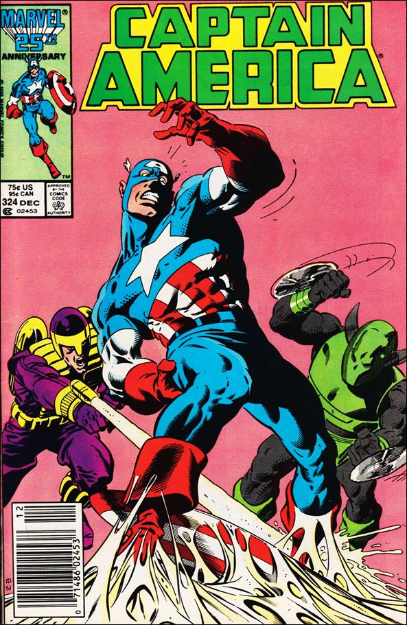 Captain America (1968) 324-A by Marvel