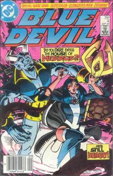 Blue Devil 4-A by DC