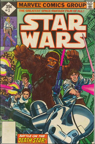 Star Wars (1977) 3-F by Marvel