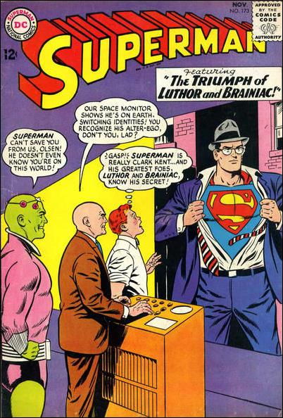 Superman (1939) 173-A by DC