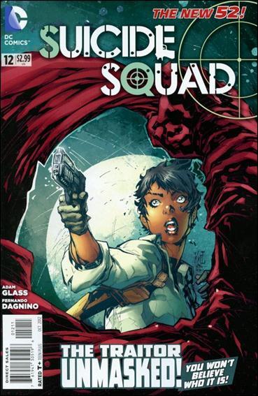 Suicide Squad (2011) 12-A by DC