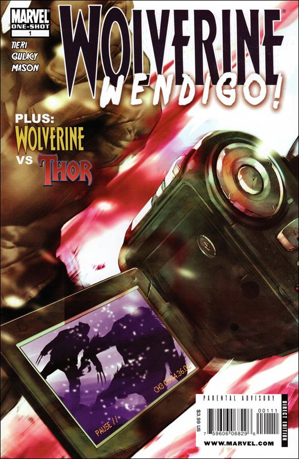 Wolverine: Wendigo! 1-A by Marvel