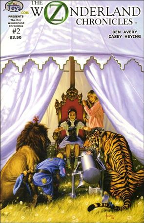 Oz/Wonderland Chronicles 2-A