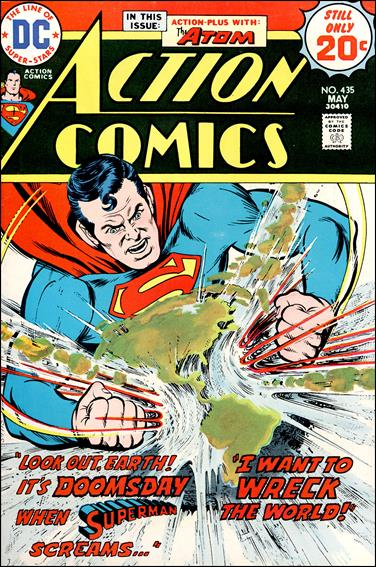Action Comics (1938) 435-A by DC