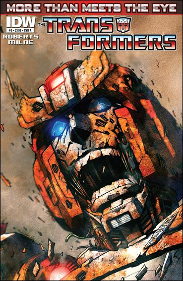 Transformers: More Than Meets the Eye (2012) 5-A by IDW