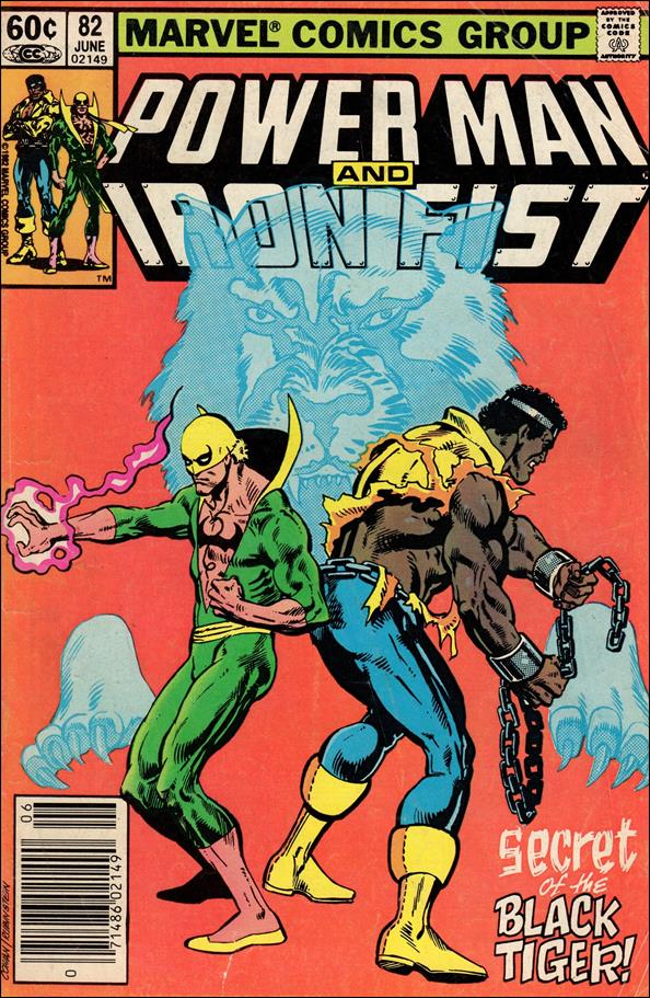 Power Man and Iron Fist (1978) 82-A by Marvel
