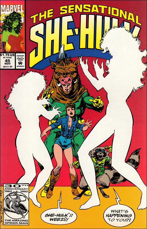 Sensational She-Hulk 45-A by Marvel