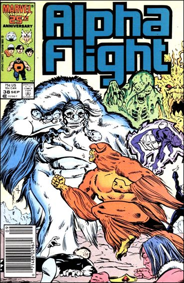 Alpha Flight (1983) 38-A by Marvel