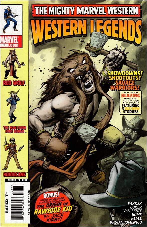 Marvel Westerns: Western Legends 1-A by Marvel