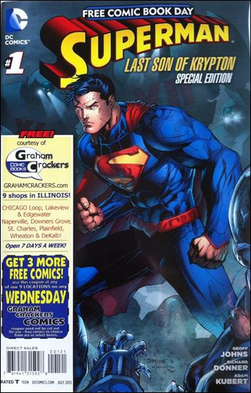 Superman: The Last Son of Krypton FCBD Special Edition 1-H by DC