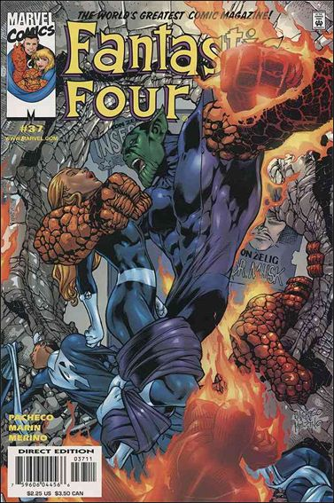 Fantastic Four (1998) 37-A by Marvel