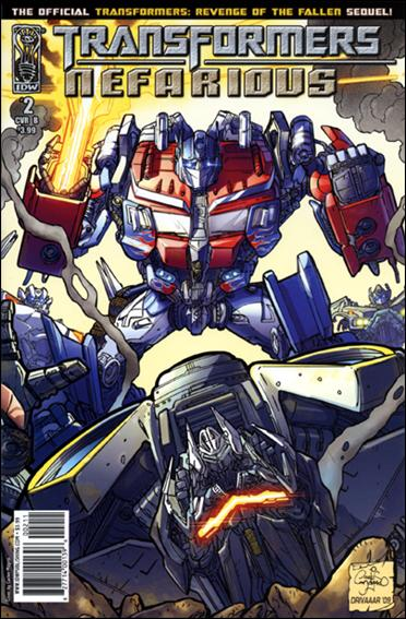 Transformers: Nefarious 2-B by IDW