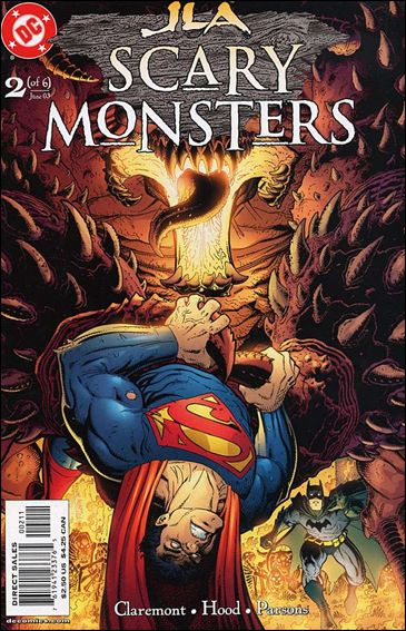 JLA: Scary Monsters 2-A by DC
