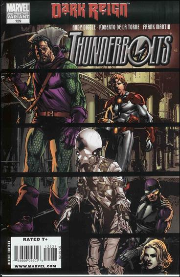 Thunderbolts (1997) 129-C by Marvel