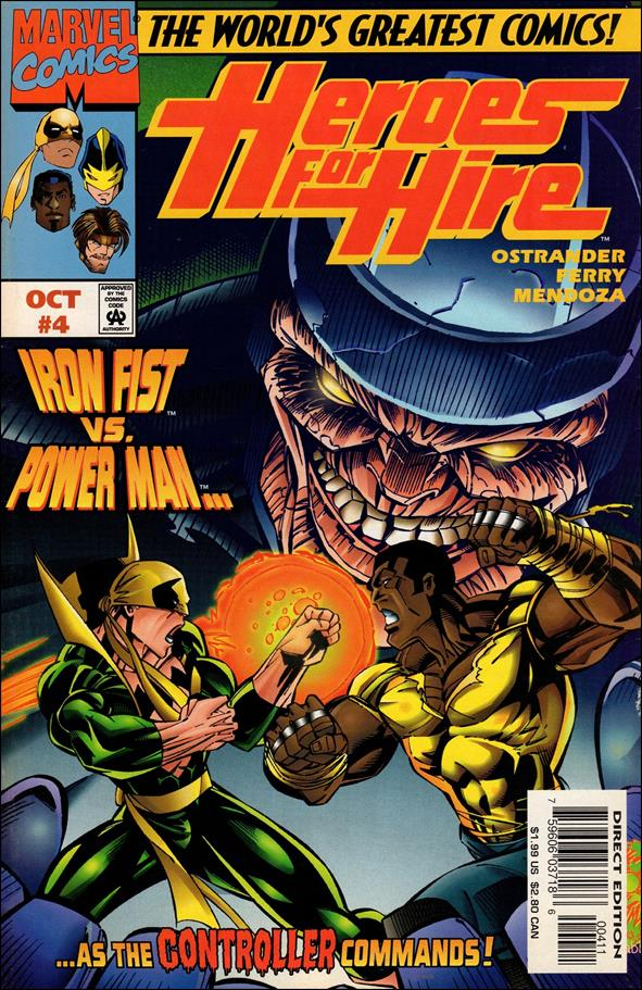 Heroes for Hire (1997) 4-A by Marvel