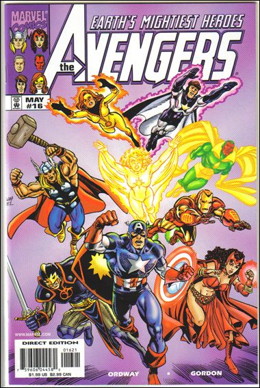 Avengers (1998) 16-B by Marvel