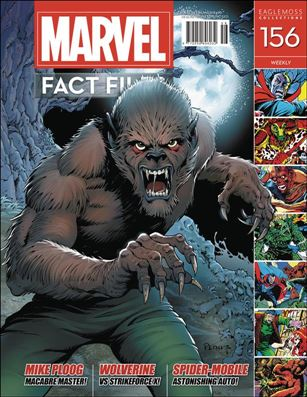 Marvel Fact Files 156-A